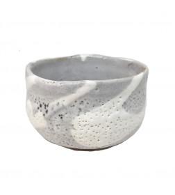 Matcha Bowl Minoyaki White