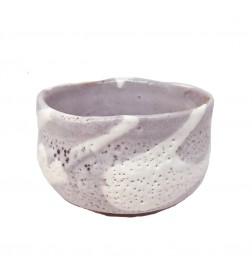 Matcha Bowl Minoyaki Pink