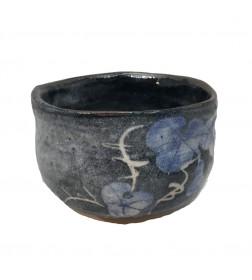 Matcha Bowl Minoyaki Black